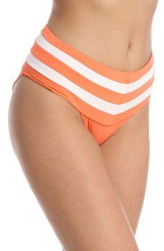 Everyday Sunday - Diana High Waist Bikini Bottoms in Coral