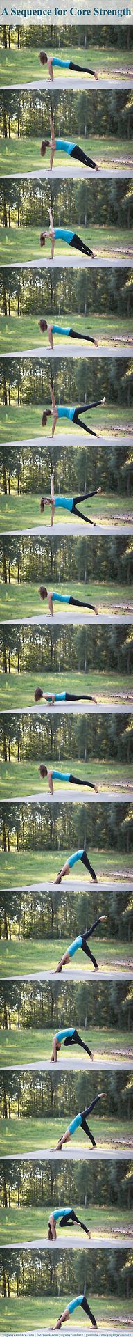 Yoga Sequence for Core Strength