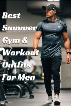 Best Summer Gym And Workout Outfits For Men. Dry-fit shirt 525c7f4b271