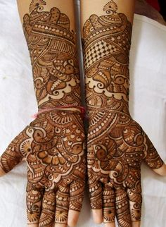 LATEST AND BEST MEHNDI DESIGNS 2015