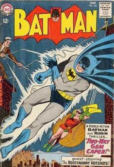 Batman #164 - Two-Way Gem Caper! (Issue)