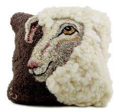 Sheep Portrait of Jack Hooking Pattern - Profile