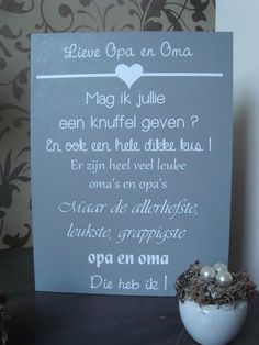 Bekijk de foto van Jymo met als titel leuk kadootje voor de allerliefste opa of… Thankful Quotes, Grandma And Grandpa, Diy For Kids, Baby Love, Hand Lettering, Activities For Kids, Texts, Workshop, Alphabet
