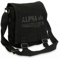 Сумка Alpha Industries Canvas Utility Bag (чорна)  Наявність: під замовлення  Ціна: 43 $