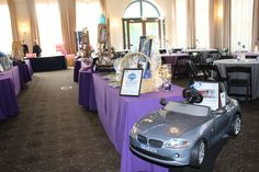 Silent Auction Items in the West Ballroom