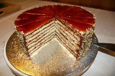 Dobošova torta + recept., recept | Tortyodmamy.sk Tiramisu, Ethnic Recipes, Food, Tiramisu Cake, Meals