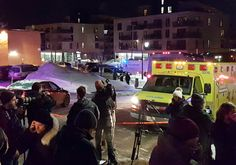 Five people were killed after gunmen opened fire in a Quebec City mosque during evening prayers, the mosque's president told reporters on Sunday.
