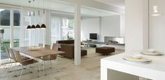 Tayloring the fit out of your prefab home to meet your individual needs Prefabricated Houses, Prefab Homes, Flat Pack Homes, Dining Table, Architecture, Modern, Furniture, Design, Home Decor