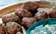 Minty Meatballs / Con Poulos