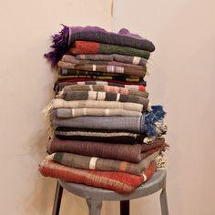 tamaki niime : roots shawl