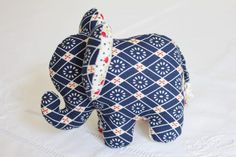 Small elephant fabric to do yourself .