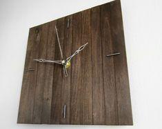 III PRAF 31x31cm cuadrada nogal madera de pared mínima por Paladim