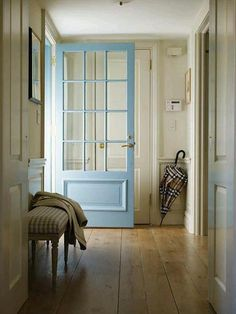 Like the really long set of windows with a small bottom panel. Also like the color. christophermayabluedoor | Flickr - Photo Sharing!