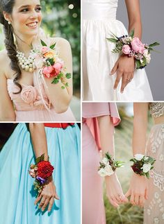 Alternative Bridal Bouquet Ideas | See more on www.onefabday.com
