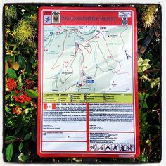 I nuovi cartelli della #RET sul #MontePisano #Rete #Escursionistica #Toscana