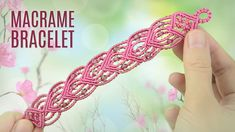 Connected Hearts Bracelet (Teaser) Macrame School