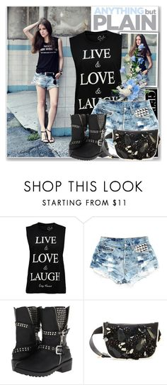 """Get The Look:Rebel Outside"" by antemore-765 ❤ liked on Polyvore featuring Levi's, Penny Loves Kenny and Marni"