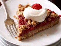 The nutty flavor of the whole wheat-and-oat crust makes the perfect counterpoint to the luscious raspberry filling.