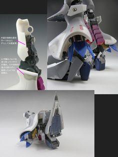 キュベレイ製作記 Gundam Tutorial, Gundam Custom Build, Sci Fi Models, Gunpla Custom, Gundam Model, Level Up, Robot, Tutorials, Design
