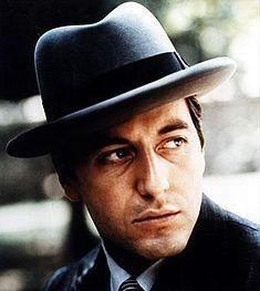 Godfather Fedora Hats for Men - Homburg and Gangster Fedora Hats