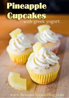 Pineapple Cupcakes |  #cupcakes #Pineapple