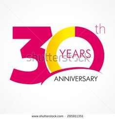 30th Anniversary 写真素材・ベクター・画像・イラスト | Shutterstock