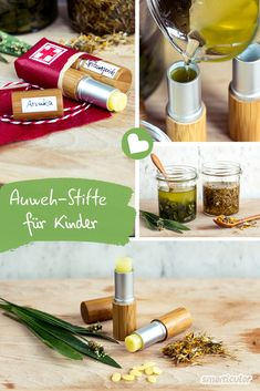 Auweh-Stift für Kinder - Erste Hilfe bei kleinen Verletzungene When children carry bumps or grazes from raging, arnica and ribwort help naturally. In pen form, they can be easily taken along and appli Beauty Care, Diy Beauty, Beauty Hacks, Healthy Foods To Eat, Healthy Life, Health Tips, Health And Wellness, Health Cleanse, Neutrogena