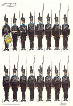 Bataille De Waterloo, Friedrich, Herzog, Napoleonic Wars, Jumping Jacks, Military History, Troops, Ww2, Army