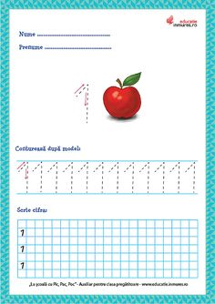 Fișe de lucru - Scrierea cifrelor și a numerelor Preschool Learning Activities, Activities To Do, Preschool Activities, Numbers Preschool, Thing 1, Kids Corner, Plastic Cutting Board, Worksheets, Dental