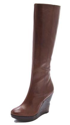 Diane von Furstenberg Orion Wedge Boots | FW2012