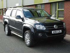 Truckman Solid Sided Hard Top for Volkswagen Amarok (2010 on) Double Cab