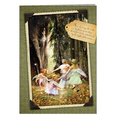 Fairy Gothic Any Occasion Eco Friendly Blank Greetings Cards Fantasy