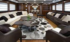 luxuriose innenausstattung yacht vive la vie, 33 best mega yacht's images on pinterest | luxury yachts, yacht boat, Design ideen