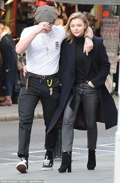 Brooklyn Beckham And Chloë Grace Moretz NYC