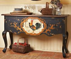 Decorating With Roosters For A French Country Look