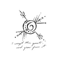 """power-of-three: """"""""I accept the past and grow from it"""" Sigil for Anonymous Sigil requests are open -Belinda """" Witch Symbols, Magic Symbols, Symbols And Meanings, Tatuaje Stick N Poke, Sanskrit Symbols, Tattoo Minimaliste, Sigil Magic, Witch Tattoo, Witch Art"""