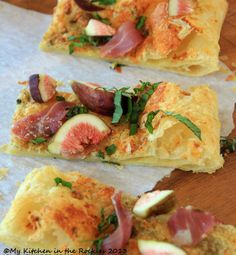 Heirloom fig & prosciutto appetizers.  #buttercupcatering, #buttercupcateringyum, #pinterest, #facebook, #google+  Buttercup Catering, Claremont CA. Los Angeles Count and surrounding areas