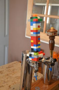 Lego Beer Tap Handle - Custom and unique