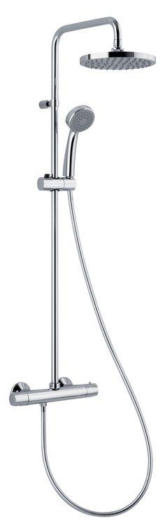 Alpi Basic 11RP2151 sprchová termostatická batéria, komplet s pevnou a ručnou sprchou