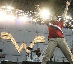 Weezer.  Bonnaroo.  Yes.