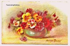 Madeleine RENAUD Famous flowers Watercolor par FascinatingHobbies