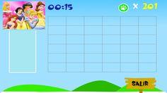 Rufo Puzzles pantalla puzzle princesas sin completar.