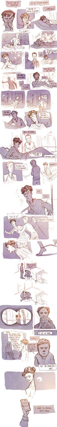 Teen Sherlock-Irene Pt5 by DrSlug on deviantART (this murders my soul)