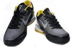 http://www.asneakers4u.com Nike Zoom Kobe 7 VII  Black/Tour Yellow