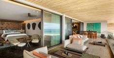 Image 20 of 42 from gallery of Solaz Los Cabos Hotel / Sordo Madaleno Arquitectos. Photograph by Rafael Gamo Mexican Colors, King Bedroom, Landmark Hotel, Innovation Design, Nice View, Sun Lounger, Interior Design, Architecture, Landscaping