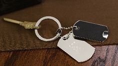 Dog Tags Key Ring - PERSONALIZED