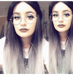 @deceased_onee Looks Lush in style: Silver Ombre  . . #lushwigssilverombre #lushwigs #wig #lushhair #lushwig #silverombre #ombrehair  Lushwigs.com (link in bio) Lush Wigs, Silver Ombre, Ombre Hair, Hair Ideas, Link, Style, Fashion, Swag, Moda