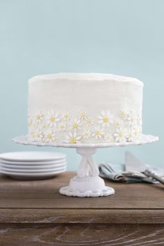 Lemon-Coconut Cake With Mascarpone Frosting