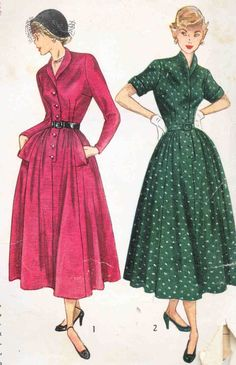 Vintage 1950's Misses' Dress Pattern Shawl by CottageLaneTreasures, $14.00