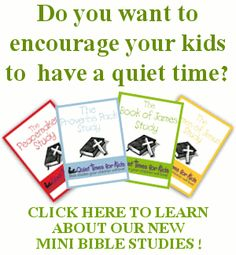 Checking these out to encourage kiddos to start the discipline of time with the Lord in the Bible; great ideas and some printables...stopping a quarrel, yield sign, etc
